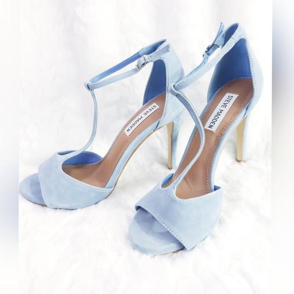 Steve Madden Shoes   Baby Blue Heels